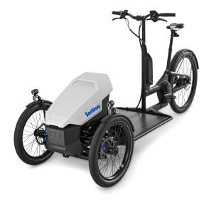 Lastenfahrrad ProCargo CT1 mit Elektromotor