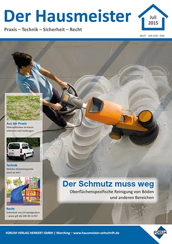 Ausgabe Juli 2015 <br> Der Schmutz muss weg