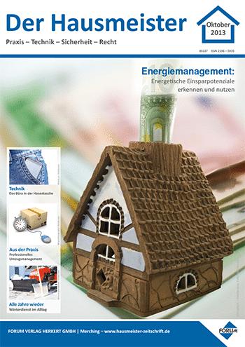Ausgabe Oktober 2013 <br> Energiemanagement