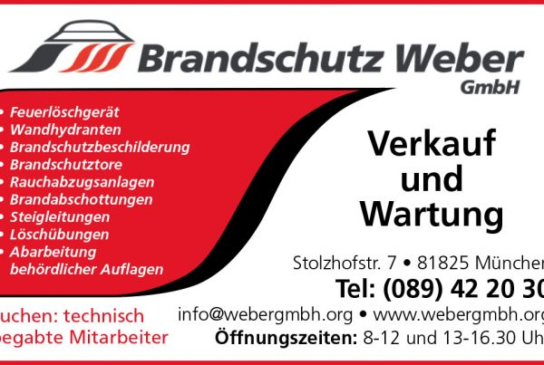 Logo Brandschutz Weber