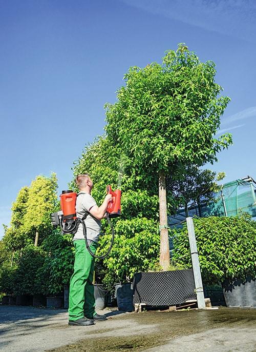 Neues Sprühverfahren im Pflanzenschutz