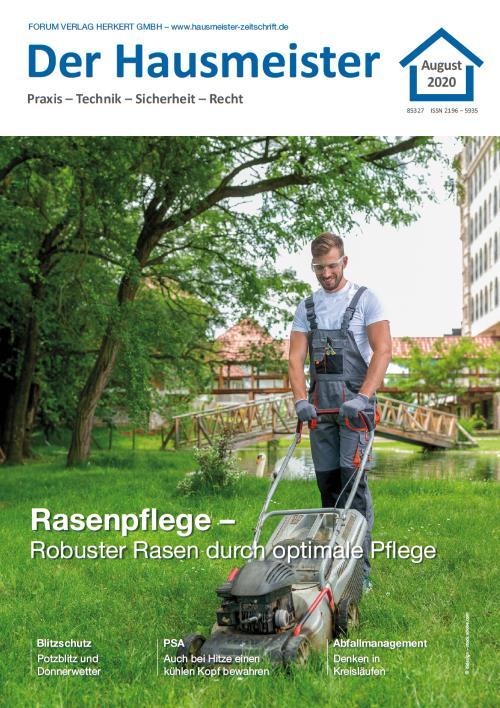 Ausgabe August 2020<br>Rasenpflege