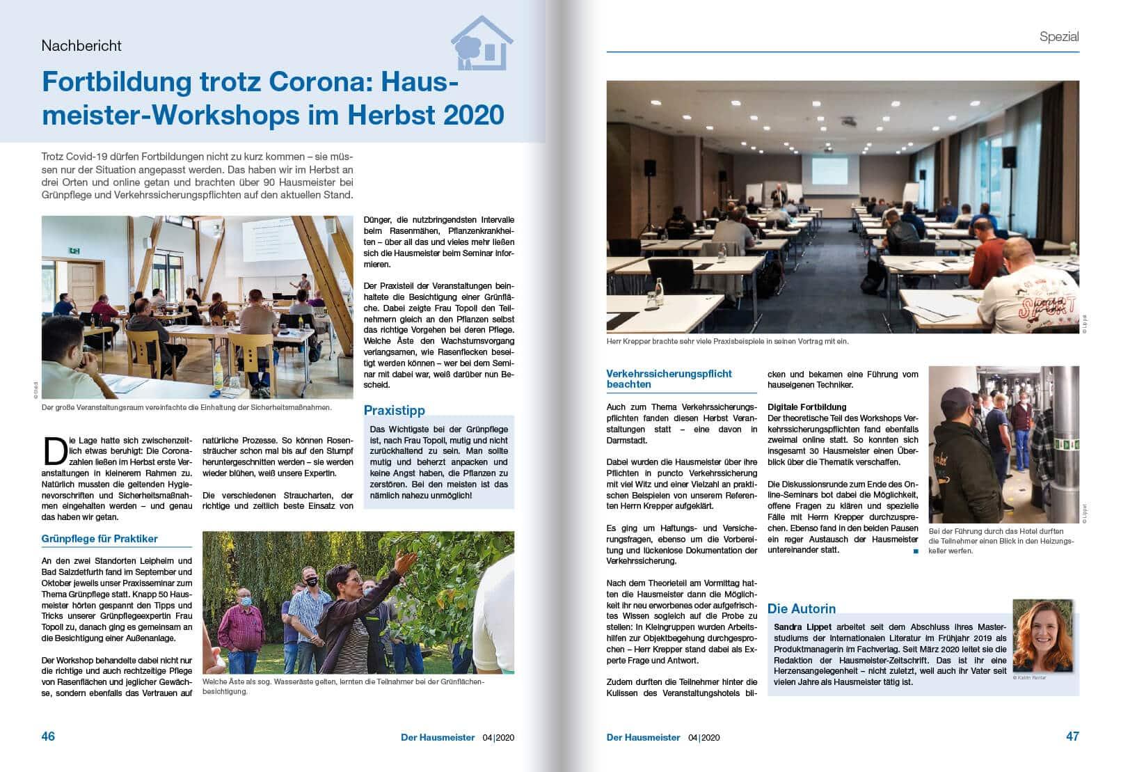 2020-12 Rückblick Hausmeister-Workshop 2020